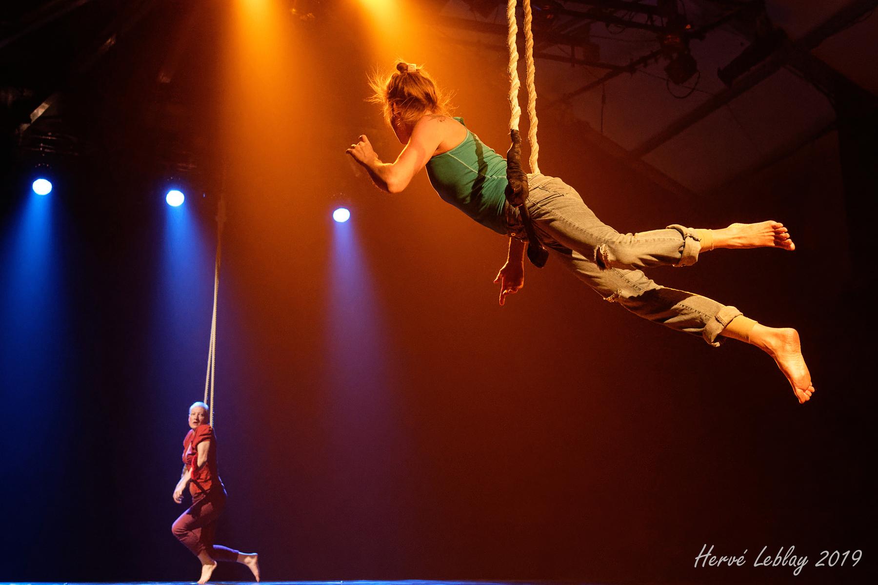 Duo de trapèze-danse / 2019